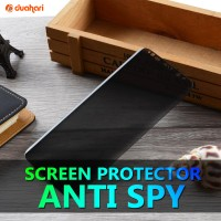 Tempered Glass SAMSUNG S8 / S8 PLUS / NOTE 8  curve anti spy protector