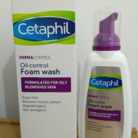 Cetaphil Dermacontrol Oil Control Foam Wash 236ml Terbaru