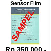 Jasa Sensor FIlm - Lembaga Sensor Film !!!