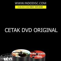 JASA CETAK DVD QUALITY ORIGINAL 500pcs