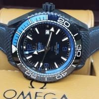 Jam Tangan pria Omega Seamaster Planet Ocean GMT super premium