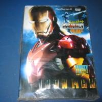 Buku cheat/buku petunjuk pemainan PS2 Iron Man (DS)