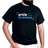 Kaos Dakwah Smile I'ts Sunnah