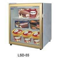 Lsd-55 Up Right Glass Door Freezer / Showcase Ice Cream
