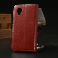 Jual Wallet Flip Cover Casing Slot Card PU Leather Case Syntetic LG NEXUS 5 Murah