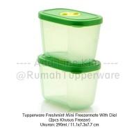Tupperware Freshmint Mini Freezermate With Dial (2pcs Khusus Freezer)