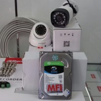 Dahua Paket camera cctv 4 kamera khusus daerah Sidoarjo / Gersik/ SBY