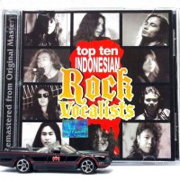 CD Top Ten Indonesian ROCK Vocalists feat. Andy Liany Hengky Supit dll