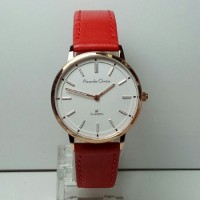Jam Tangan Alexandre Christie AC 8492 LH Rose Gold Red