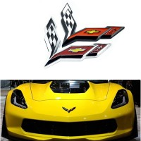 Emblem exclusive chevy chevrolet 60 years Corvette captiva spin trax
