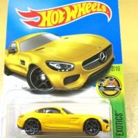 Hot Wheels 2015 Mercedes Benz AMT GT  Kuning Yellow Super Rare