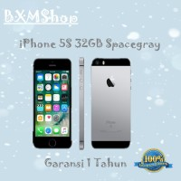 Refurbished Apple Iphone 5s-32 Gb Gray Garansi Distributor 1 Thn