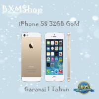 Refurbished Apple Iphone 5s-32 Gb Gold Garansi Distributor 1 Thn