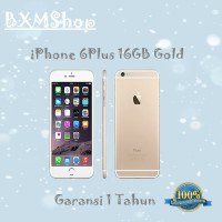 harga Apple Iphone 6 Plus Gold 16gb Gsm Garansi Distributor 1 Tahun Tokopedia.com