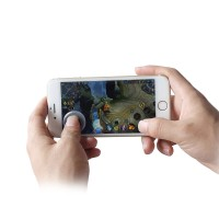 1 PC Ultra-thin Mobile Joystick Game Stick Controller For Touch Screen