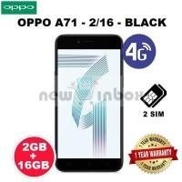 OPPO A71 - BLACK - 2/16 - GARANSI RESMI OPPO INDONESIA 1 TAHUN