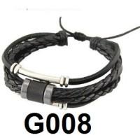Gelang Kulit Multilayer G008