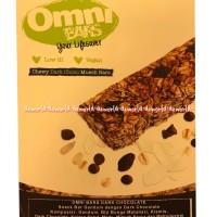 Omni Bars Dark Chocolate Cemilan Sehat Snack Bars Baik Untuk Diet 176g