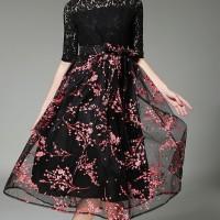 Ready Stock Dress Import High Quality Premium A29817