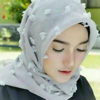 hijab segi empat linen rubiah / kerudung / jilbab /