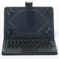iPad Mini 1, 2, 3, 4 Flip Cover Bluetooth Keyboard with TOUCH PAD