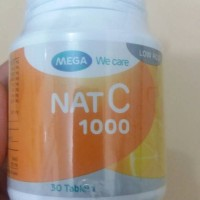 nat c 1000/vitamin c/antioksidan/ester c/low acid/30 tablet
