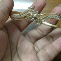 gelang berlian medan asli