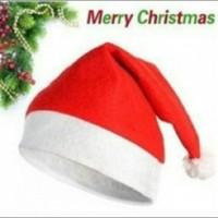 Jual Topi Santa Klaus Claus Clause Natal Murah