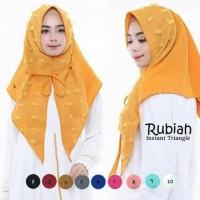 hijab instan jilbab rubiah triangle model simple