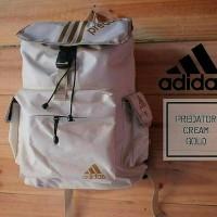 Jual Tas ransel sekolah Adidas predator Original pria/cowok wanita/cewek Murah