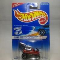 Hot Wheels Radio Flyer Wagon Langka Unik Murah