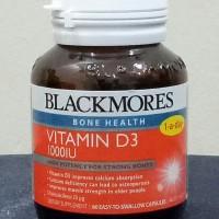 Jual Blackmores Vitamin D3 1000IU isi 60 kapsul Murah
