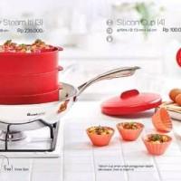 Jual Tupperware Cherry Steam It 3 susun Murah
