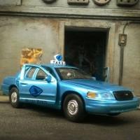 Diecast Taxi blue Bird ford crown victoria interceptor custom skala 34