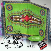 Sarong  Pareo Kain Mandala Sarung pantai Tapestry Merak Bali is121