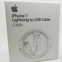 KABEL CHARGER LIGHTNING IPHONE5 IPHONE6 IPAD AIR MINI 2 ORIGINAL APPLE