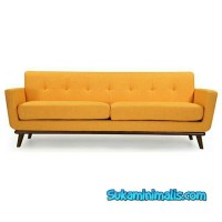 sofa retro minimalis jati