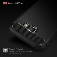 Samsung Galaxy A5 2017 Case Delkin Original Carbon Bumper Softcase