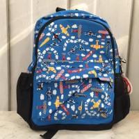 Harga tas backpack anak smiggle blue biru plane pesawat original promo mur | Pembandingharga.com