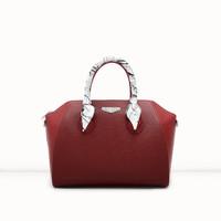 Jual New Medium Shoulder Bag Brended red maroon Pedro Murah