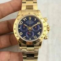 Arloji Swiss Eta jam tangan Rolex Daytona Cosmograph