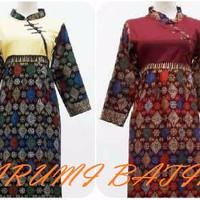 MURAH Gamis Baju Muslimah Long Maxi Dress Batik Anak 1656 GROSIR