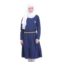 Dress Wanita / Dress Female Midi Ribs - H 3040
