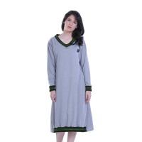Dress Wanita / Dress Female Half Ribs - H 3043