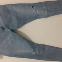 Jeans Pull & Bear Super Skinny / Jeans stretch / Jeans ripped pria