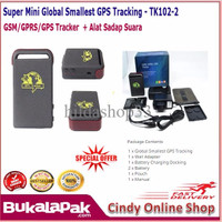EXCLUSIVE Super Mini Global Smallest GPS Tracking Device GSM/GPRS/GPS