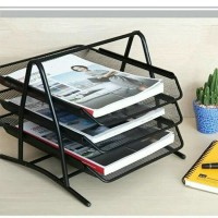 Letter Tray 3 Susun / Rak Tempat Dokumen / Paper Tray Organizer