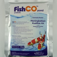 FISHCO POND, probiotik khusus untuk aquarium/kolam ikan hias