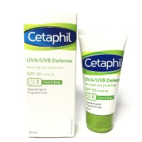 DIJAMIN ORIGINAL CETAPHIL Uva Uvb Defense Spf 50 - SUNBLOCK - SUNCREAM
