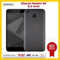 Case Xiaomi Mi Redmi 4X 4 X Armor Hybrid Rugged Robot Carbon Softcase